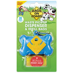 BOB Dispenser Bone Blue(30 bags)