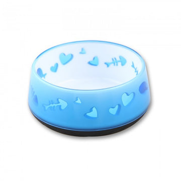 CAT LOVE BOWL - BLUE
