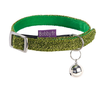 DISCO CAT COLLAR - GREEN