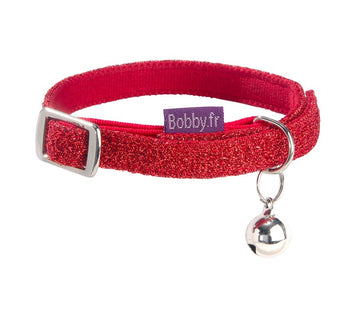 DISCO CAT COLLAR - RED