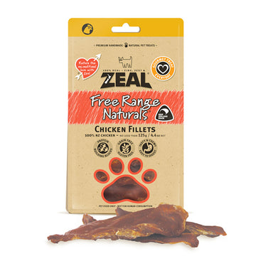 Zeal Dried Chicken Breast Fillet 125g