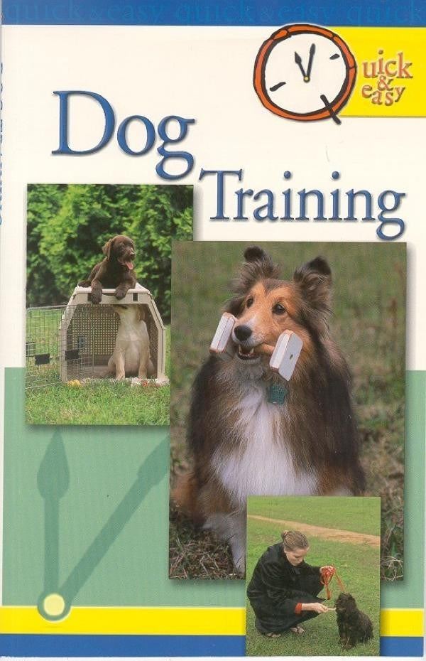 QUICK AND EASY DOG TRAINING (4606621581365)