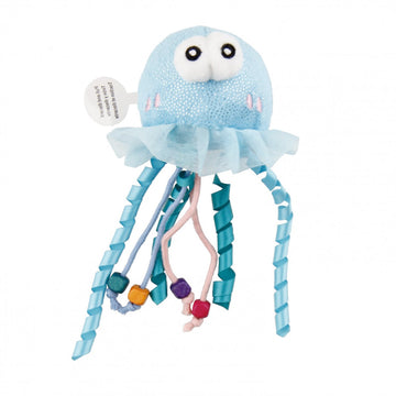 Shining Friends Jellyfish with activated LED light & Catnip inside