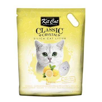 Kit Cat Classic Crystal Cat Litter – Lemon (5 Litres)