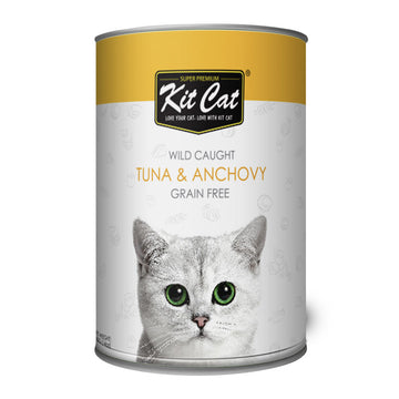 Kit Cat Wild Caught Tuna & Anchovy (400g)