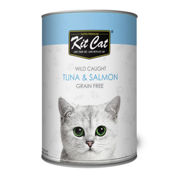 Kit Cat Wild Caught Tuna & Salmon (400 g)
