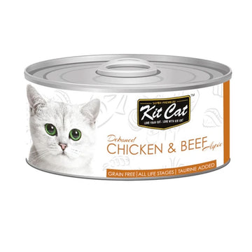 Kit Cat Deboned Chicken & Beef – 80g