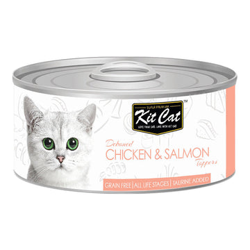Kit Cat Chicken & Salmon 80g