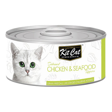 Kit Cat Chicken & Seafood 80g