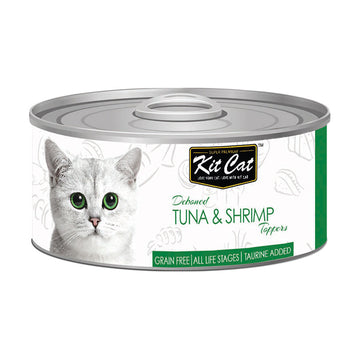 Kit Cat Deboned Tuna & Shrimp Toppers 80g