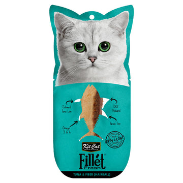 Kit Cat Fillet Fresh Tuna and Fiber (Hairball)