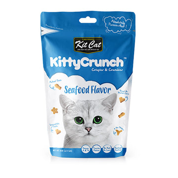 Kit Cat Kitty Crunch Seafood Flavor