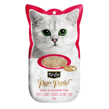 Kit Cat Purr Puree Tuna & Smoked Fish