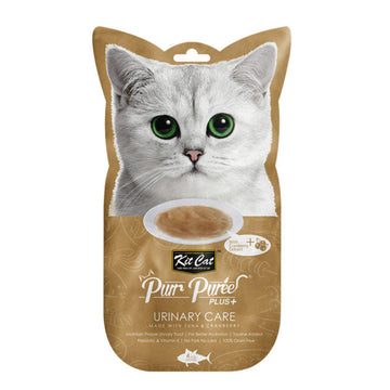 Kit Cat Purr Puree Plus+ Tuna & Cranberry (Urinary Care)