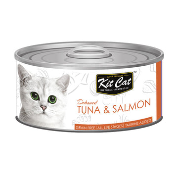 Kit Cat Tuna & Salmon 80g