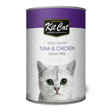 Kit Cat Wild Caught Tuna & Chicken (400g)