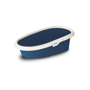 Cat litter box MINOU- MINI Dark Blue