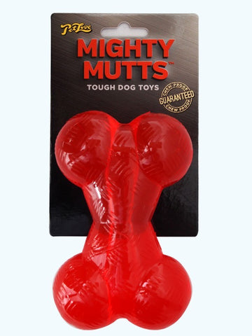 MIGHTY MUTTS RUBBER BONE