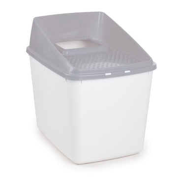 NO MESS LITTER BOX - GREY