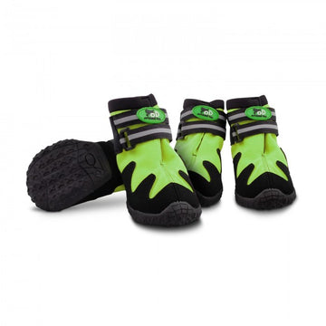 OUTDOOR DOG SHOES - GREEN / S