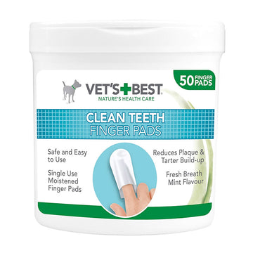 Vet's Best Clean Teeth Finger Pads