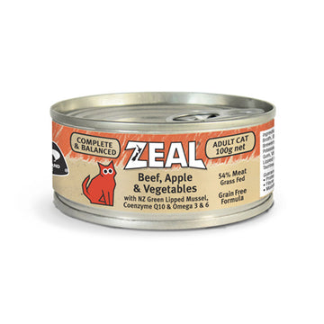 Zeal – Beef, Apple & Vegetables (100g)