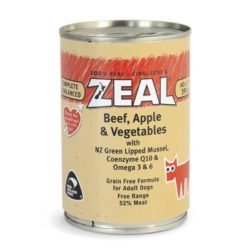 Zeal – Beef, Apple & Vegetables (390g)
