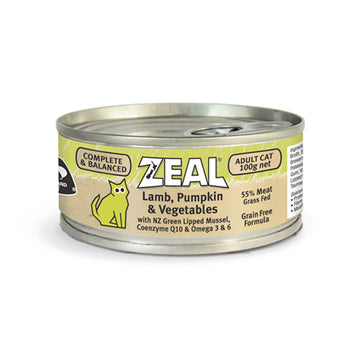 Zeal – Lamb, Pumpkin & Vegetables (100g)