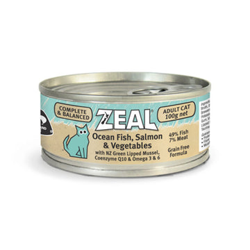 Zeal – Ocean Fish, Salmon & Vegetables (100g)