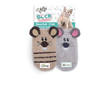 SOCK CUDDLER - MOUSE SOCK - 2 PACK