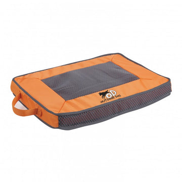 QUICK DRY OUTDOOR DOG MAT - ORANGE