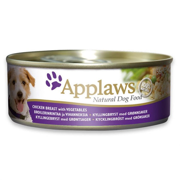 Applaws Dog Chicken w/ Vegetable- Tin (4631745888309)
