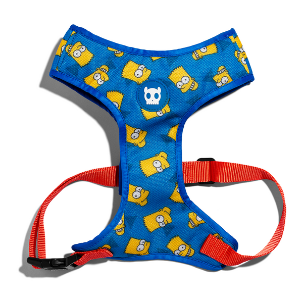Zee.Dog Bart Simpson Air Mesh Plus Harness