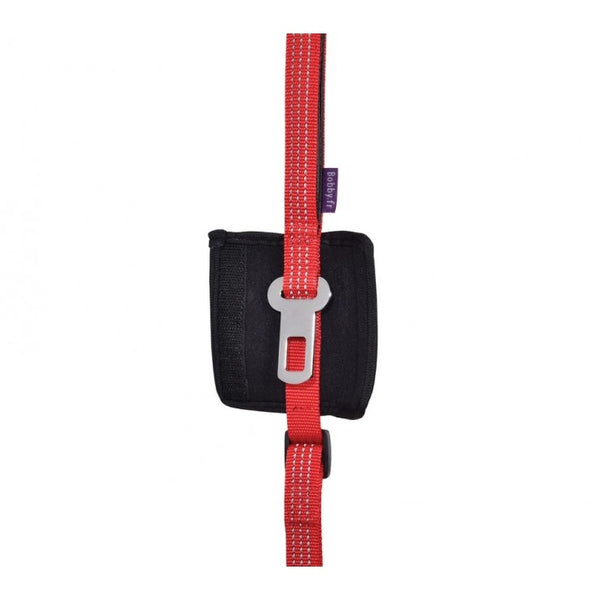 CAR LEASH 2 IN 1 - RED (4606524719157)