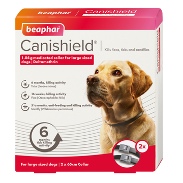 CANISHIELD FLEA & TICK COLLAR (DELTAMETHRIN) - LARGE DOGS