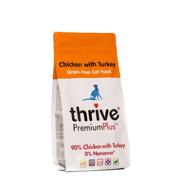 Thrive Cat Chicken with Turkey Dry Food (1.5 KG)
