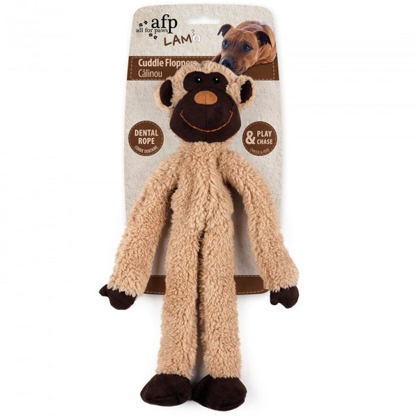 LAMBSWOOL CUDDLE ROPEY FLOPPER - MONKEY (4601434996789)