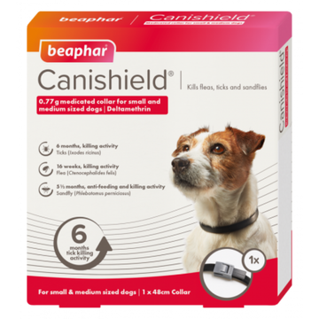 CANISHIELD FLEA & TICK COLLAR (DELTAMETHRIN) - SMALL & MEDIUM DOGS