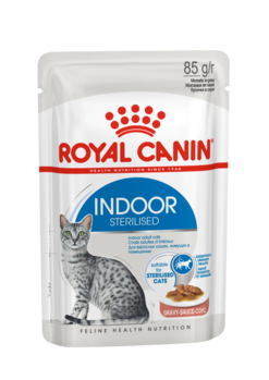 FELINE HEALTH NUTRITION INDOOR GRAVY WET FOOD - POUCHE