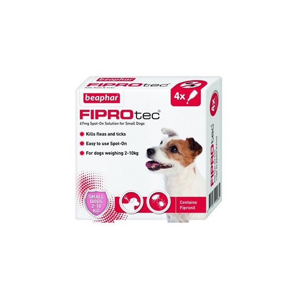 FIPROTEC FOR SMALL DOG - 4 PIPETTES (4589678395445)