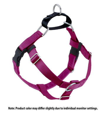 FREEDOM NO-PULL HARNESS AND LEASH - RASPBERRY / 5/8""