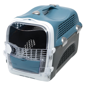 CABRIO CAT CARRIER SYSTEM - BLUE/GREY