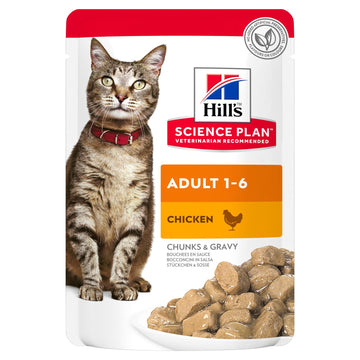 Science Plan Adult Wet Cat Food Chicken Pouch