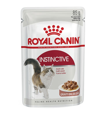 FELINE HEALTH NUTRITION INSTINCTIVE ADULT CATS GRAVY - POUCHE