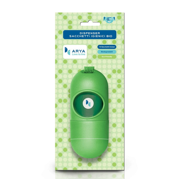 ARYA DISPENSER WITH 1 BIODEGRADABLE REFILL