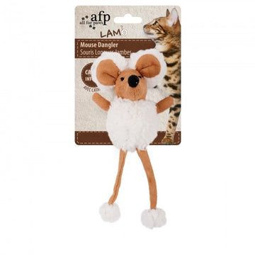 LAMBSWOOL MOUSE DANGLER