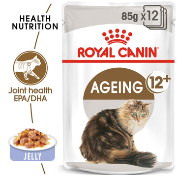 FELINE HEALTH NUTRITION AGEING +12 JELLY (WET FOOD - 12 POUCHES)