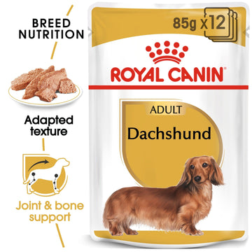 BREED HEALTH NUTRITION DACHSHUND ADULT (WET FOOD -12 POUCHES)