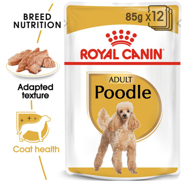 BREED HEALTH NUTRITION POODLE ADULT WET FOOD - POUCHE