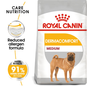 CANINE CARE NUTRITION MEDIUM DERMACOMFORT
